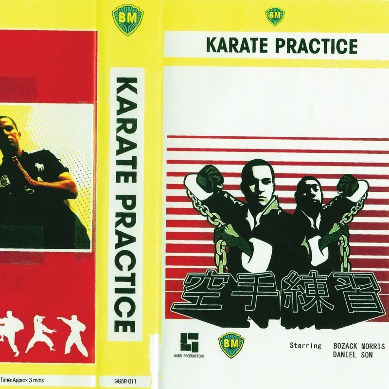 "Bozack Morris - Karate Practice [Black] [Vinyl Record / 7""] - Dig Around Records"