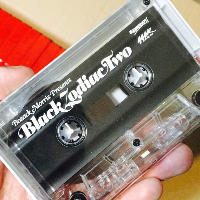 Bozack Morris Presents - Black Zodiac Two [Clear] [Cassette Tape / Mixtape] - Dig Around Records