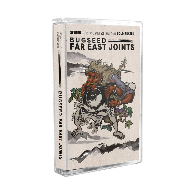 Bugseed - Far East Joints [Cassette Tape]-Cold Busted Records-Dig Around Records