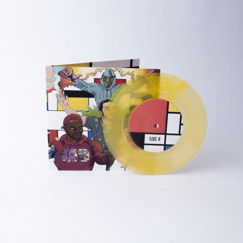 "CAMOFLAUGE MONK - Trgovac Umjetninama [Yellow] [Vinyl Record / 7""]-FXCK RXP-Dig Around Records"