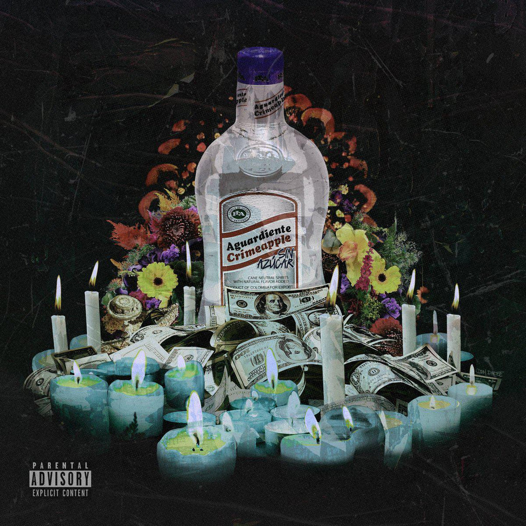 CRIMEAPPLE & Big Ghost - Aguardiente (El Disco De Flores) [CD] - Dig Around Records