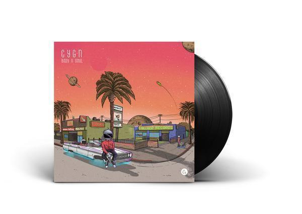 C Y G N - BODY N SOUL [Vinyl Record / LP]-Chillhop Records-Dig Around Records