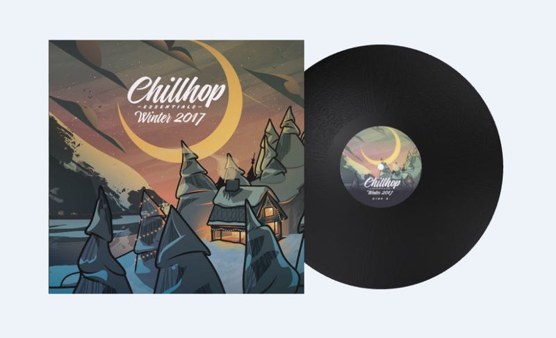 Chillhop Records - Chillhop Essentials - Winter 2017 [Vinyl Record / 2 x LP]-Chillhop Records-Dig Around Records