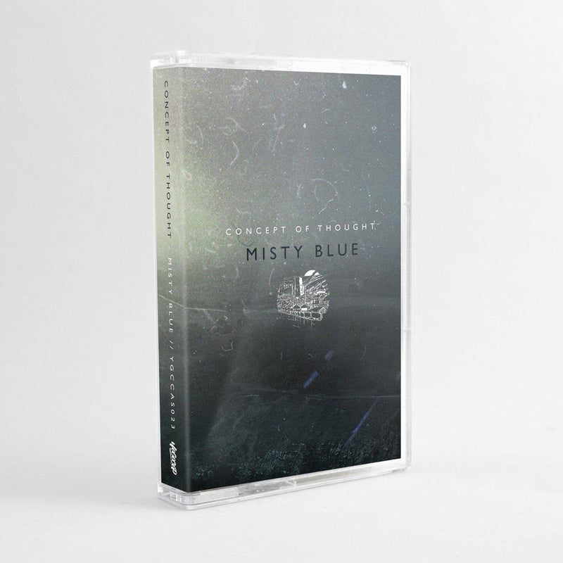 Concept Of Thought - Misty Blue [Cassette Tape + Sticker]-YOGOCOP RECORDS-Dig Around Records