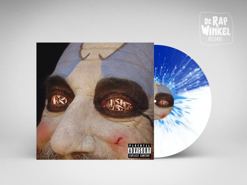 Conway - The Devil's Reject [Blue/White Splatter] [Vinyl Record / LP]-de Rap Winkel Records-Dig Around Records