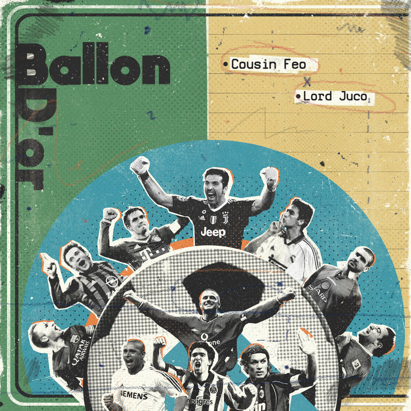Cousin Feo, Lord Juco - Ballon D'or [Green Edition] [Vinyl Record / LP]-Frank's Vinyl Records-Dig Around Records