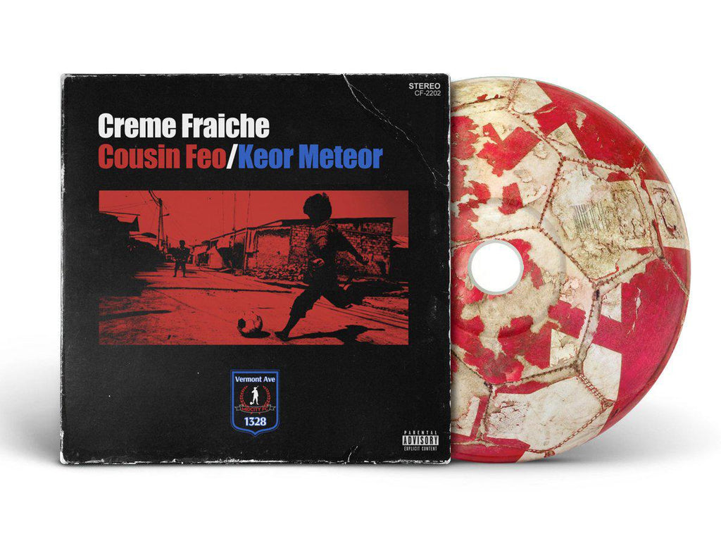 Cousin Feo/Keor Meteor - Creme Fraiche [CD] - Dig Around Records