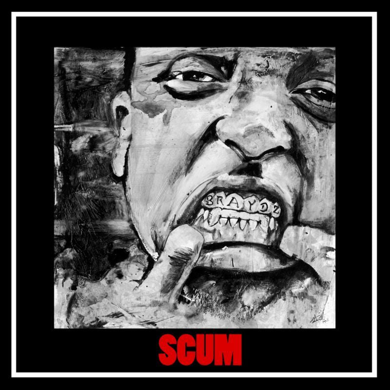 DA FLYY HOOLIGAN - S.C.U.M. (SUPREME CUT UNTOUCHED MAGNIFICENCE) [CD]-GourmetDeluxxx-Dig Around Records