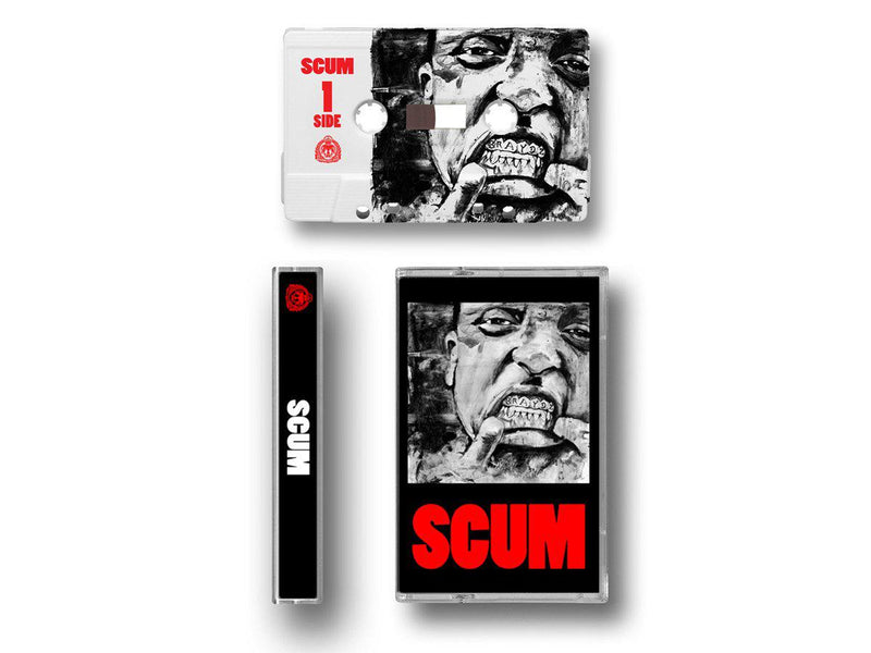 DA FLYY HOOLIGAN - S.C.U.M. (SUPREME CUT UNTOUCHED MAGNIFICENCE) [Cassette Tape]-GourmetDeluxxx-Dig Around Records