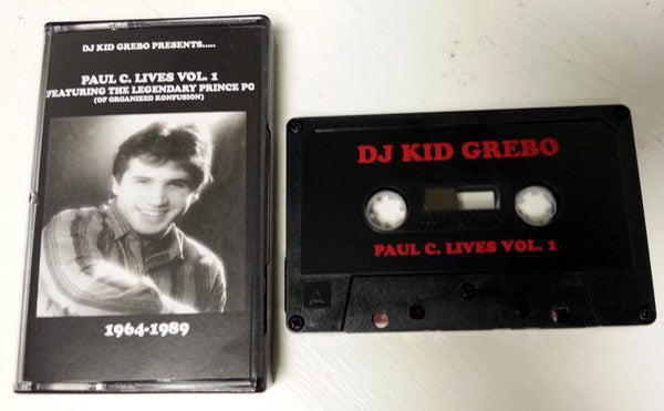 DJ Kid Grebo - Paul C. Lives Vol. 1 [Cassette Tape]-Not On Label-Dig Around Records