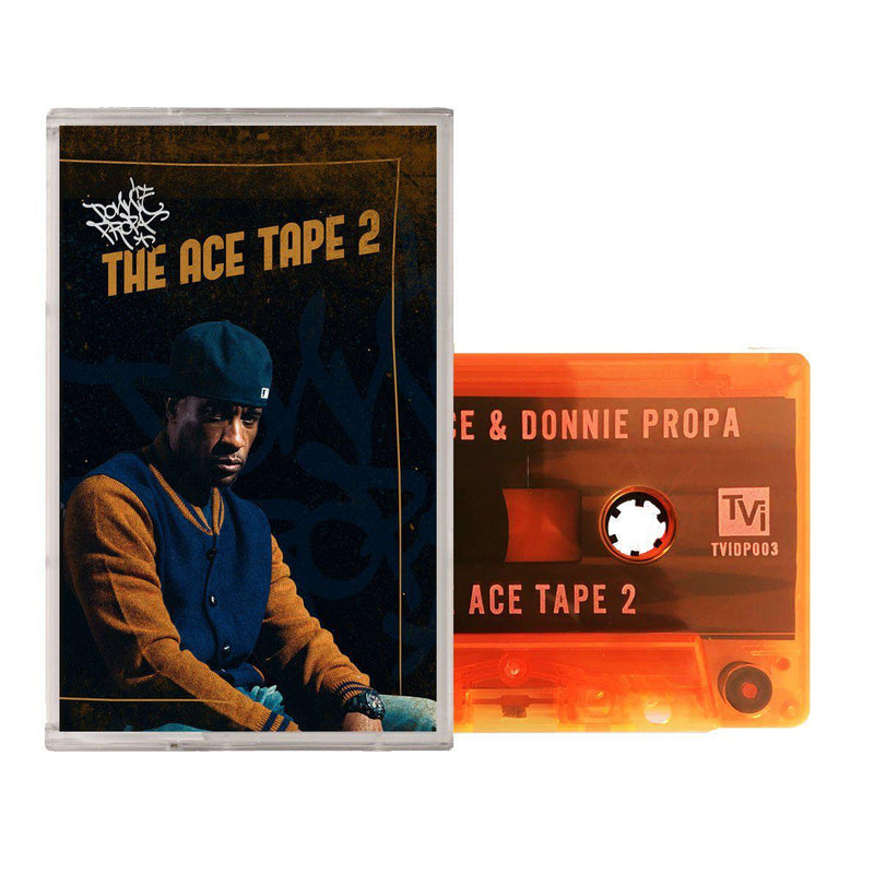 DONNIE PROPA PRESENTS MASTA ACE - THE ACE TAPE 2 [Cassette Tape / Mixtape]-Village Live Records-Dig Around Records