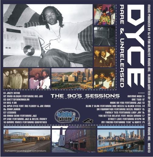 DYCE - Rare & Unreleased [CD]-HIP-HOP ENTERPRISE-Dig Around Records