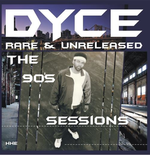 DYCE - Rare & Unreleased [Dual Colour / Blue Moon in Milky Clear] [Vinyl Record / 2 x LP]-HIP-HOP ENTERPRISE-Dig Around Records