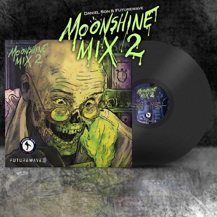Daniel Son & Futurewave - Moonshine Mix 2 [Black] [Vinyl Record / LP] - Dig Around Records