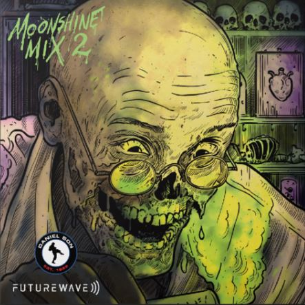Daniel Son & Futurewave - Moonshine Mix 2 [Black] [Vinyl Record / LP]-Brown Bag Money-Dig Around Records