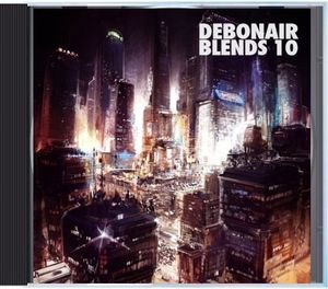 Debonair P - Debonair Blends 10 [Mix CD] - Dig Around Records