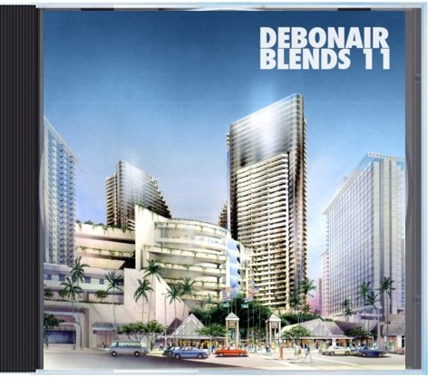 Debonair P - Debonair Blends 11 [Mix CD] - Dig Around Records