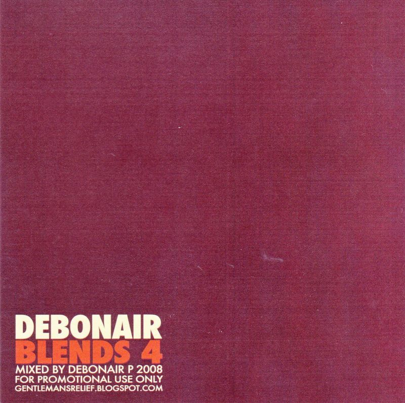 Debonair P - Debonair Blends 4 [Mix CD] - Dig Around Records