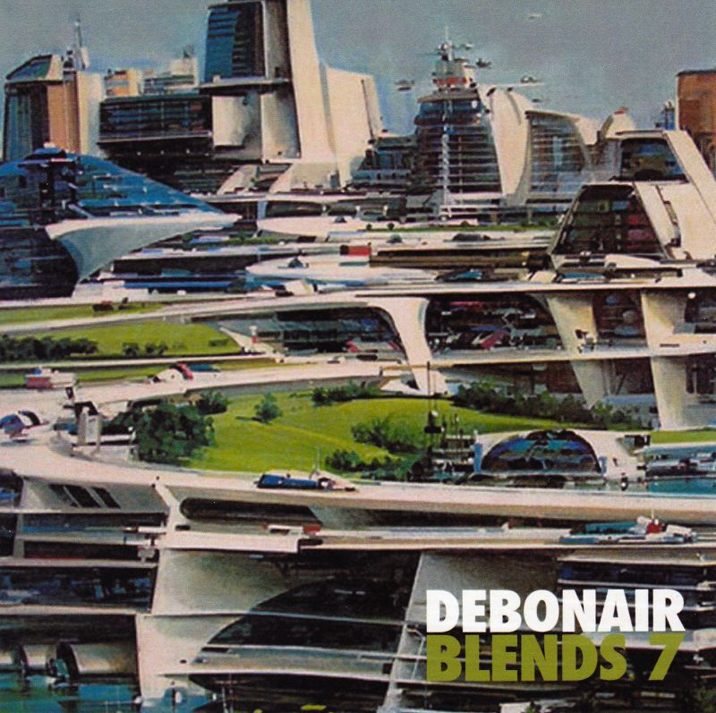 Debonair P - Debonair Blends 7 [Mix CD] - Dig Around Records
