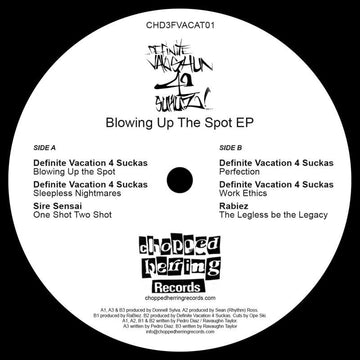 "Definite Vacation 4 Suckaz - Blowing Up The Spot [Vinyl Record / 12""]"