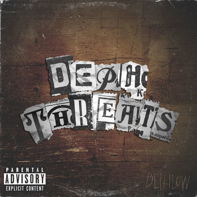 Dephlow - Deph Threats [CD]-Don't Sleep Records-Dig Around Records