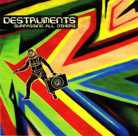 Destruments - Surpassing All Others [CD]-Creative Juices Music-Dig Around Records