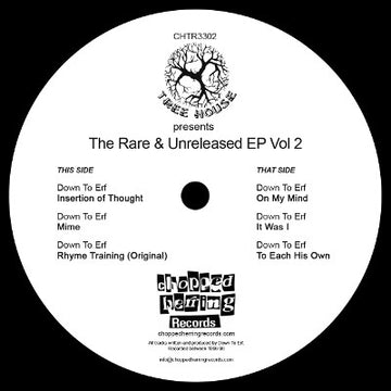 "Down To Erf - Tree House Vol 2 [Black] [Vinyl Record / 12""]"