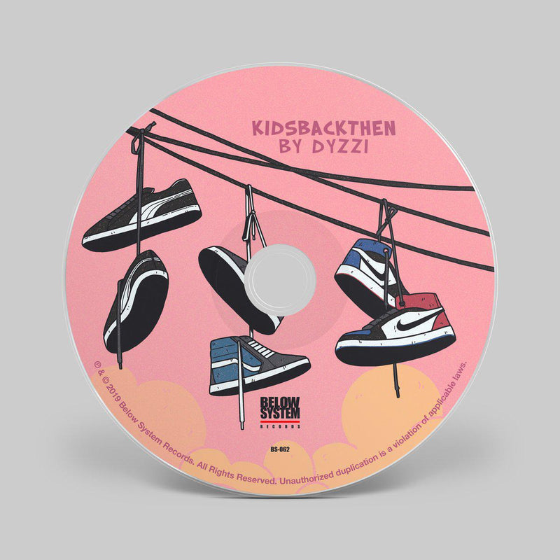 Dyzzi - KidsBackThen [CD]-Below System Records-Dig Around Records