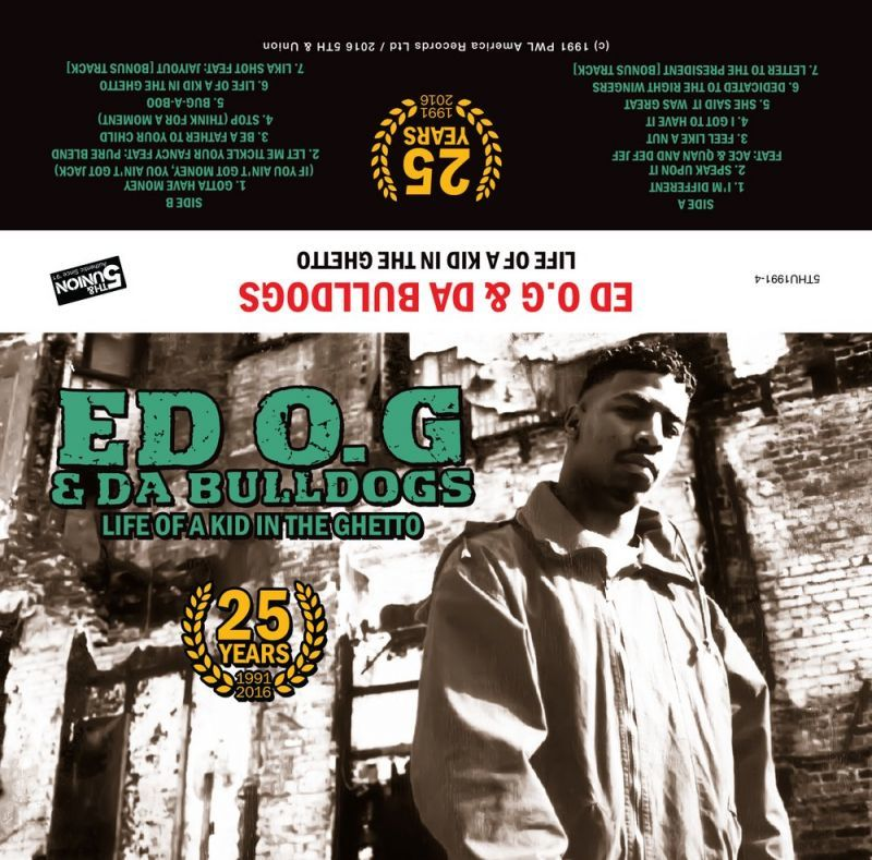 ED O.G & DA BULLDOGS - Life Of A Kid In The Ghetto | 25 Year Anniversary [Cassette Tape]-5th & Union-Dig Around Records