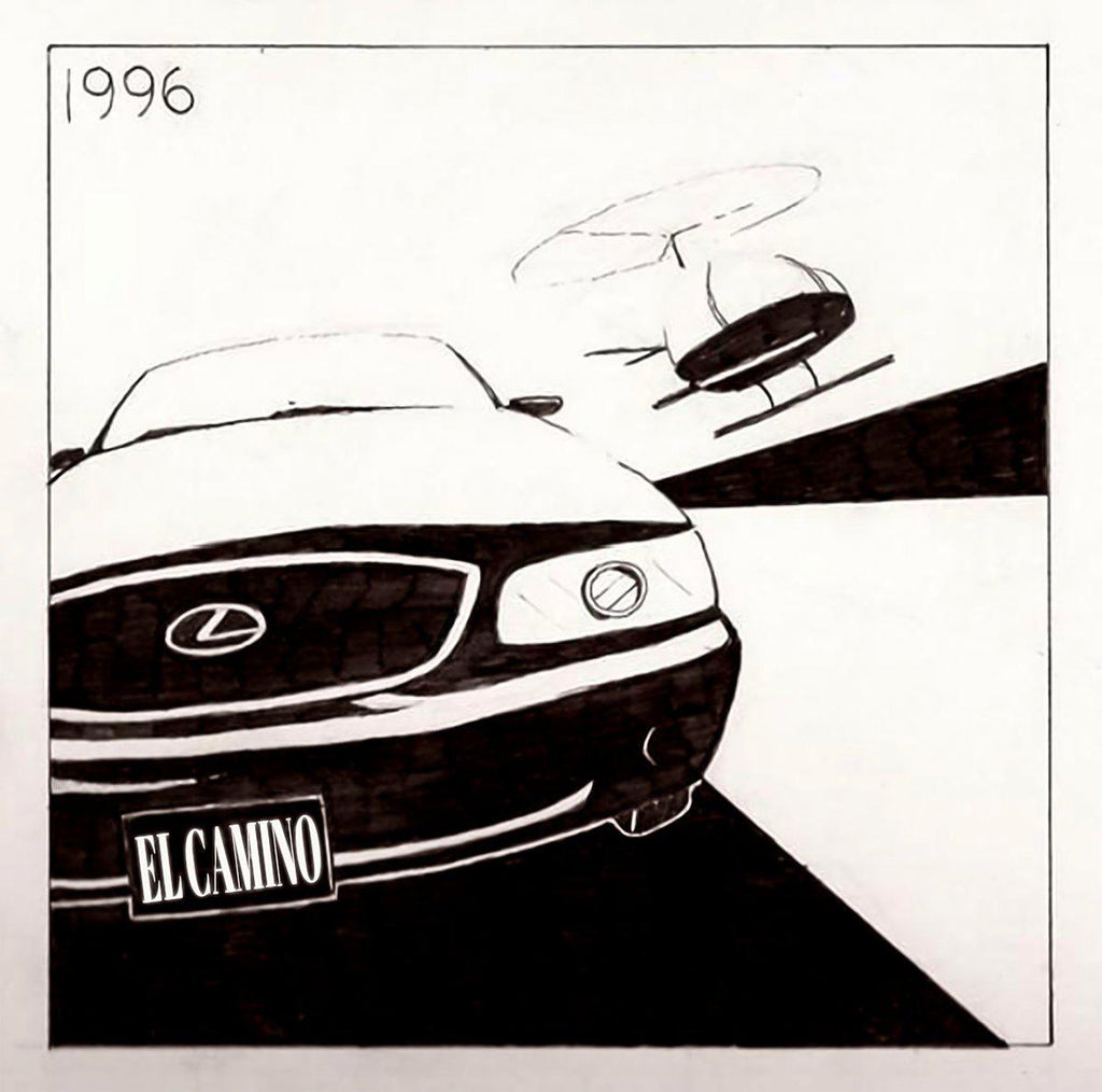 "El Camino - 96 [BLACK EDITION] [Vinyl Record / 12""] - Dig Around Records"