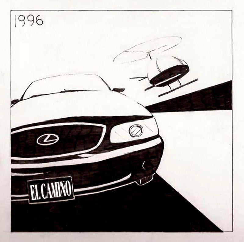 "El Camino - 96 [BLACK EDITION] [Vinyl Record / 12""]-Frank's Vinyl Records-Dig Around Records"