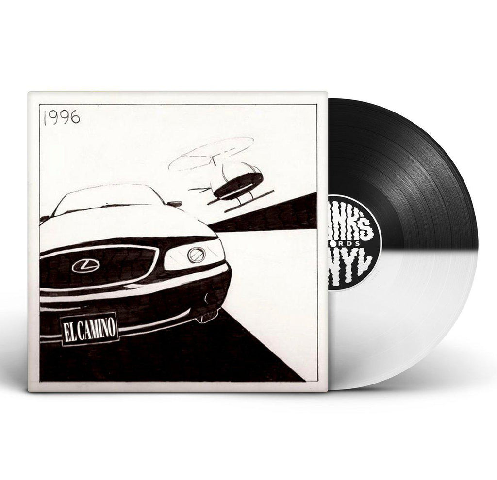 "El Camino - 96 [BLACK & WHITE VERSION] [Vinyl Record / 12""] - Dig Around Records"