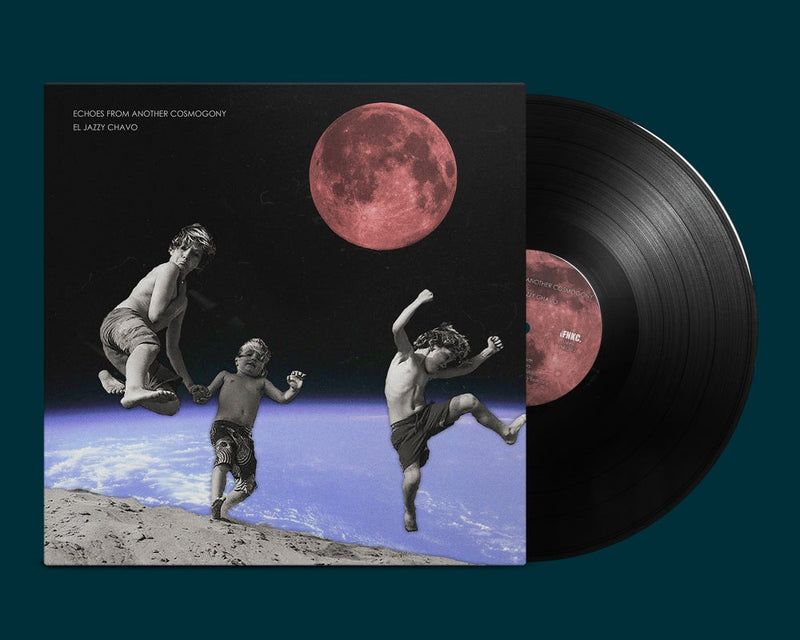 El Jazzy Chavo - Echoes From Another Cosmogony [Vinyl Record / LP + Download Code]-Funkypseli Cave Records FNKC-Dig Around Records
