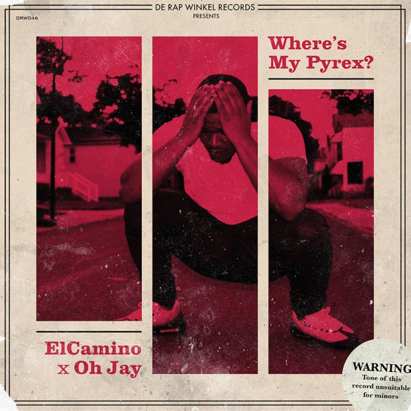 Elcamino & Oh Jay - Where's My Pyrex [Ultra Clear] [Vinyl Record / LP]-de Rap Winkel Records-Dig Around Records