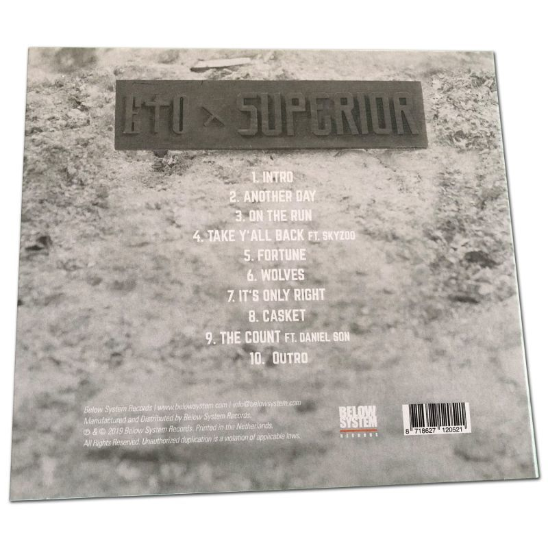 Eto & Superior - Long Story Short [CD]-Below System Records-Dig Around Records