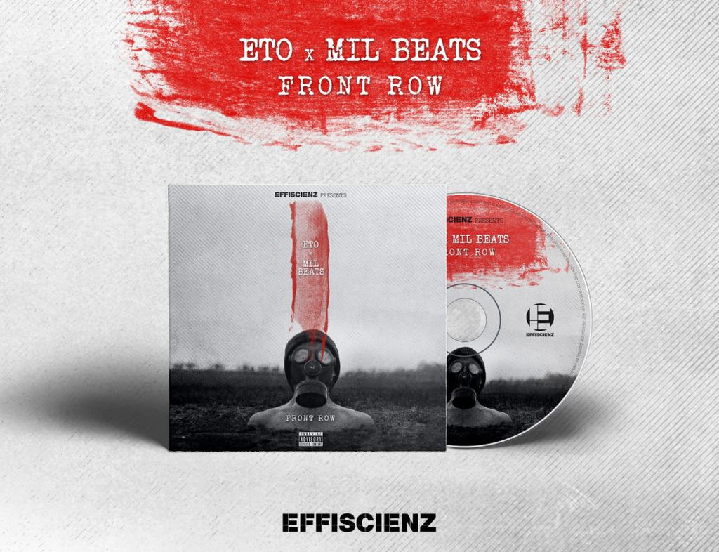 Eto x Mil Beats - Front Row [CD + Sticker] - Dig Around Records