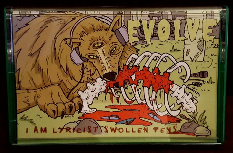 Evolve - I am lyricist swollen pens [Yellow] [Cassette Tape]-Ill Catz Records-Dig Around Records