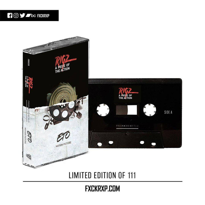 FLU, ETO & RIGZ - A Piece of the Action / Motion Picture [Cassette Tape]-FXCK RXP-Dig Around Records