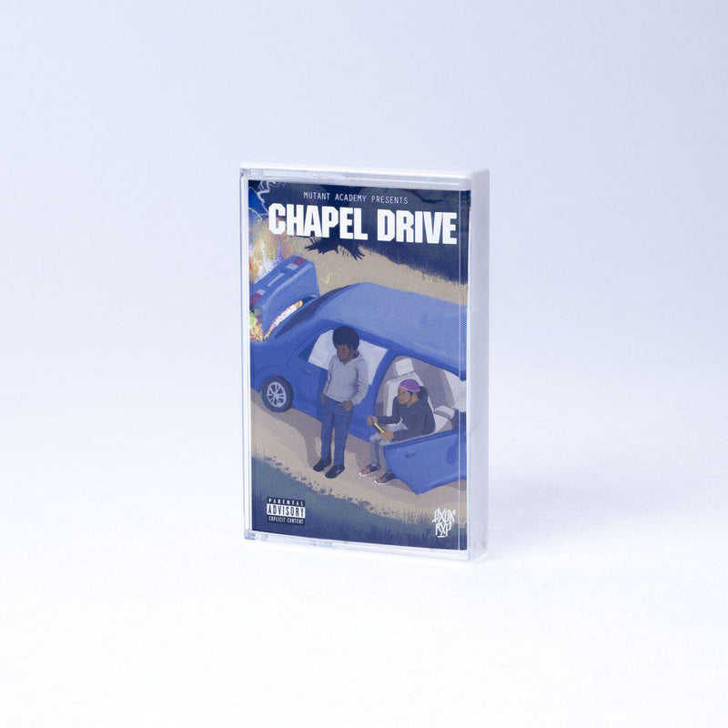 FLY ANAKIN & KONCEPT JACK$ON - Chapel Drive [Cassette Tape]-FXCK RXP-Dig Around Records