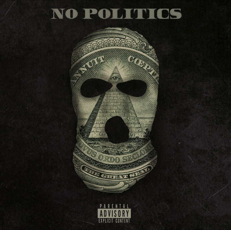 Fastlife, Madhattan - NO POLITICS [Dark Green Edition] [Vinyl Record / LP]-Frank's Vinyl Records-Dig Around Records