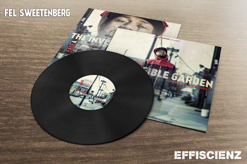 "Fel Sweetenberg - The Invisible Garden [Vinyl Record / 12""]-EFFISCIENZ-Dig Around Records"