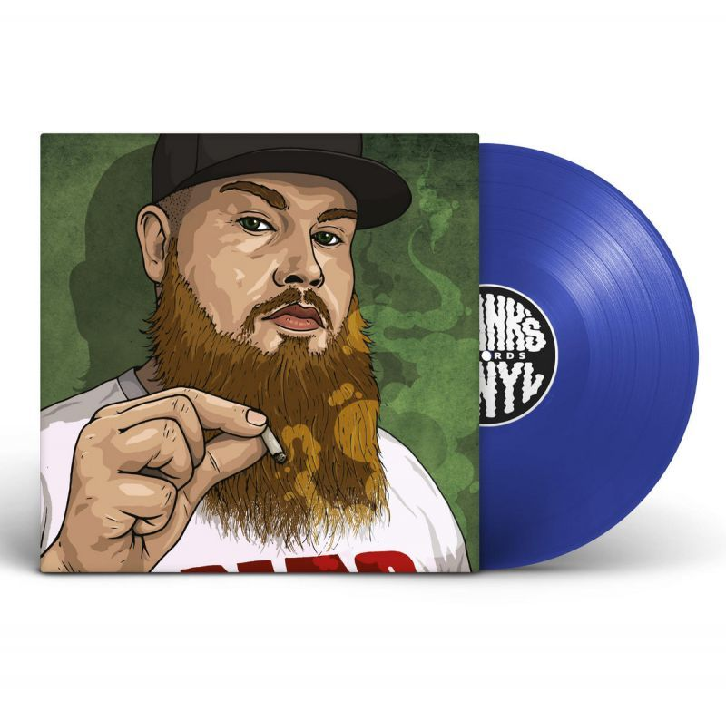 "Frank's Vinyl feat CRIMEAPPLE - Tres Leches / Blimpies [BLUE] [Vinyl Record / 12""]-Frank's Vinyl Records-Dig Around Records"