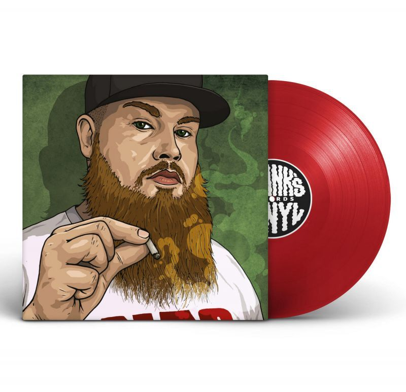 "Frank's Vinyl feat CRIMEAPPLE - Tres Leches / Blimpies [RED] [Vinyl Record / 12""]-Frank's Vinyl Records-Dig Around Records"