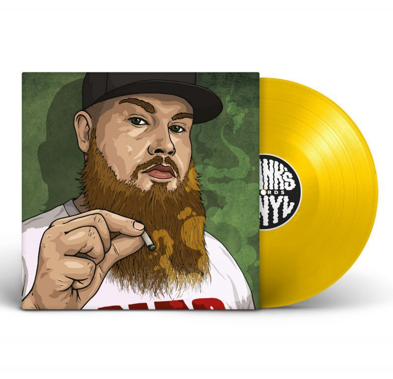 "Frank's Vinyl feat CRIMEAPPLE - Tres Leches / Blimpies [YELLOW] [Vinyl Record / 12""] - Dig Around Records"