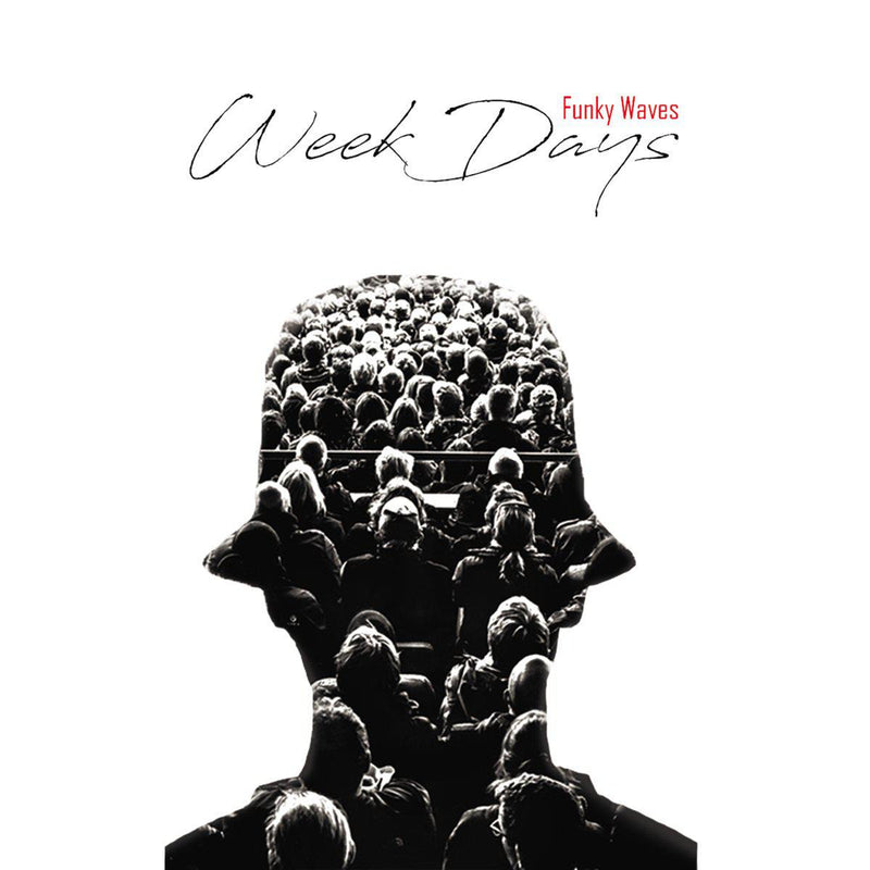 Funky Waves - Week Days [Cassette Tape]-POSTPARTUM. RECORDS-Dig Around Records