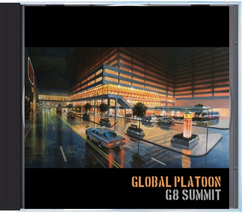 GLOBAL PLATOON - G8 Summit [CD]-Gentleman's Relief Records-Dig Around Records