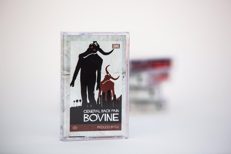 GeneralBackPain x Flu - Bovine [Cassette Tape]-Not On Label-Dig Around Records