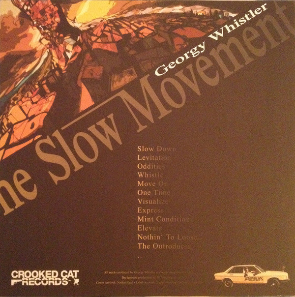 Georgy Whistler - The Slow Movement [Vinyl Record / LP]-Crooked Cat Records-Dig Around Records