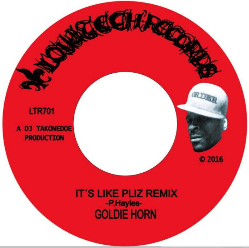 "Goldie Horn - It's Like Pliz Remix [Vinyl Record / 7""]-Lowtechrecords-Dig Around Records"