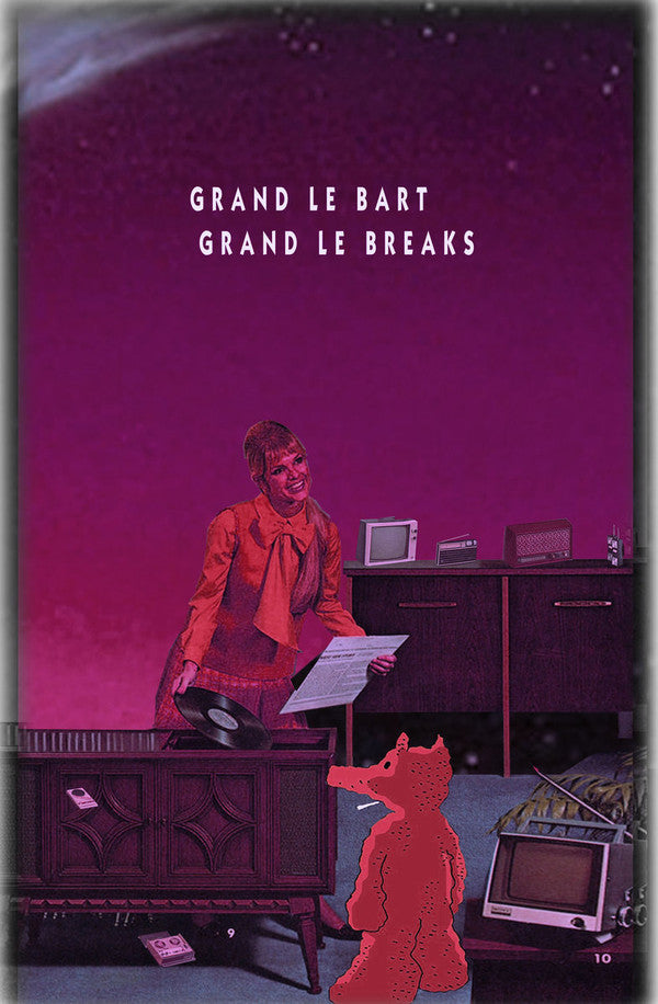 Grant Le Bart - Grant le Breaks [Cassette Tape]-Digging Around The Minds Flava-Dig Around Records